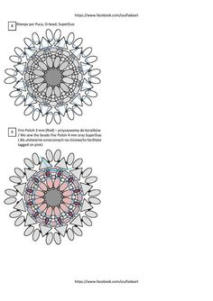 1000+ images about Bead patterns rings on Pinterest