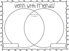 A simple blank Venn Diagram to help your students compare
