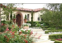 My Ideas Lanscape Tuscan Style Backyard Landscaping Pictures