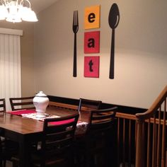 1000+ images about Ideas for dining room wall decor on