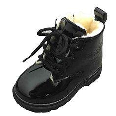 bluestercool chaussures bebe bebes garcons filles martin bottes dhiver chaussures de coton chaud