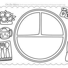 Printable worksheets, Circles and Hexagons on Pinterest