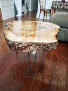 1000 ideas about Wood Slab on Pinterest  Slab Table