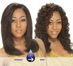 wet and wavy weave hairstyles milky way wet wavy tempo curl 8 in cute hairstyles