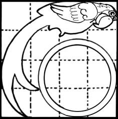 balance bird template For use in WEBELOS Scientist Pin