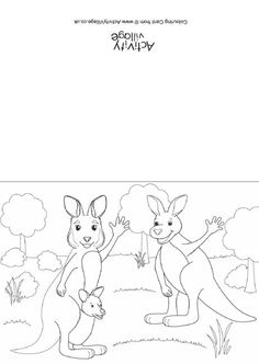 Kangaroo Life Cycle Book: illustrates and describes the