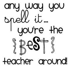#teacherappreciation Write a letter to the principal