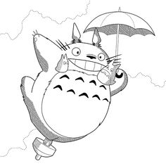 Doodles and Totoro