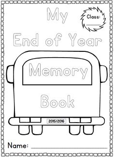 1000+ images about Pre K end of year gift on Pinterest