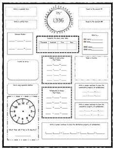 FREE language arts worksheet for third grade! Your child