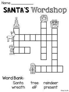 clothes and accessories criss cross crossword puzzle
