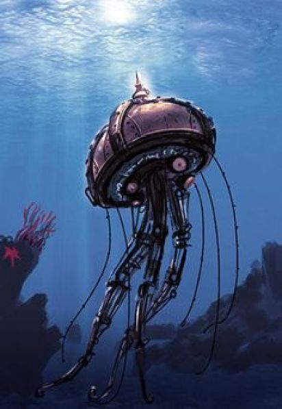 Image result for steampunk jellyfish