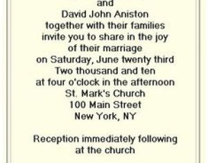 Ideas About Reception Only Invitations On Pinterest