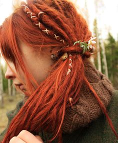 1000 Ideas About Half Dreads On Pinterest Dreadlocks