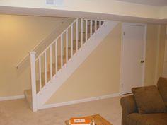basement stairs railing design decorating basement design