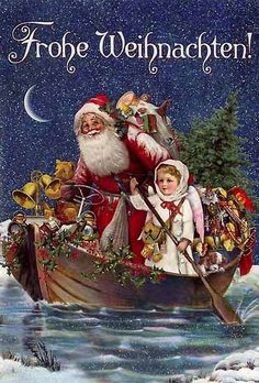 1000 Ideas About Father Christmas On Pinterest Vintage