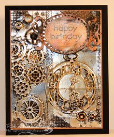 1000 Images About STEAMPUNK CHRISTMAS CARDS On Pinterest