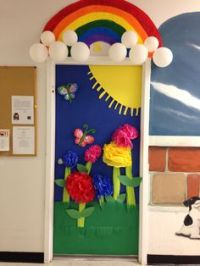 Decorating an art room on Pinterest | Door Decorating, Art ...
