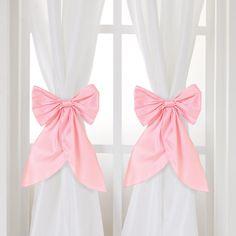 Serafina White Curtain Panels Set Of 2 Curtains Nurseries And