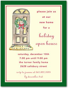 Printable Christmas Party Invitation Christmas Invitation