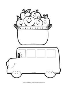 Imprima su selección de grandes pegatinas de autobuses