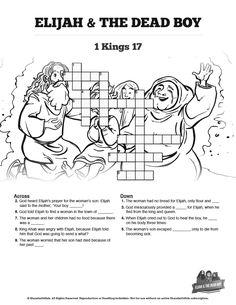 John 3 Nicodemus Bible Sunday School Crossword Puzzles
