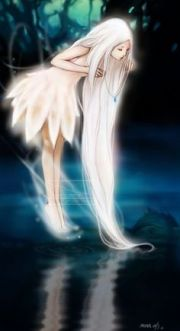 anime girl with wings