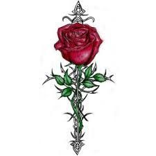 20 Long Stem White Roses Tattoos Ideas And Designs