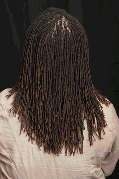 Human Hair Dreadlock Extensions Thin PackBundle OF 10