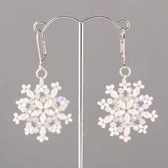 1000+ images about Beaded Earring Patterns (Tutorials) on