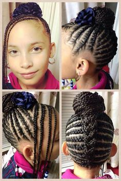 487 Best Images About Natural Hairdos For Kids On Pinterest