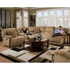 1000 Images About Big Family Think Sectional On