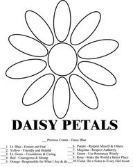 Daisy petals, Daisies and Girl scouts on Pinterest