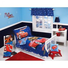Disney Cars Room Decor Ashtons Toddler Was An Exact Replica Of This One Where Did All The Years Go