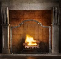 1000+ images about Painted fireplaces on Pinterest