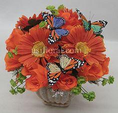 Butterfly Flower Arrangements On Pinterest Sunflowers