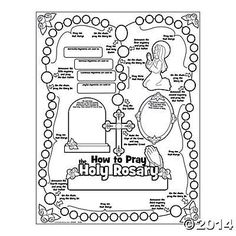 1000+ images about Teaching kids the Rosary on Pinterest