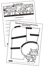 Free Bully Prevention Graphic Organizer! Stop Bullying In