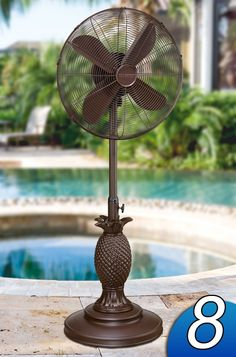 Love this outdoor fan! Great for the patio and deck