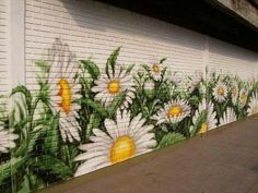 Wooden Fence Mural Kat Henolson Feel Like Helping Me Paint