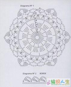 12-petal circle. pattern for: http://pinterest.com/pin