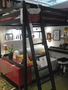 Ikea Loft Bed But We Don T Like The Ladder The Space