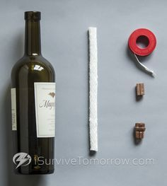 1000+ ideas about Wine Bottle Lanterns on Pinterest