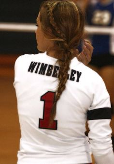1000 Ideas About Cute Volleyball Hairstyles On Pinterest