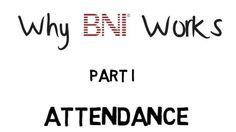 BNI 06.11 Education: Referring out of your contact sphere