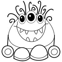 1000+ images about monster printables on Pinterest
