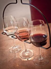 Wine Flight Wine Glass Holder and Server is the efficient ...