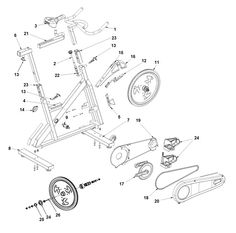 1000+ images about Exercise Bike Parts on Pinterest