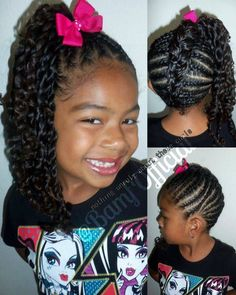 Natural Black Twisted Hairstyles Girl Kids And Beyond