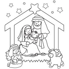 Happy birthday jesus, Jesus coloring pages and Happy
